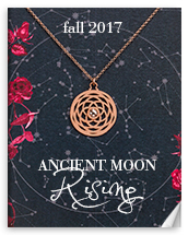 Dogeared Ancient Moon Rising