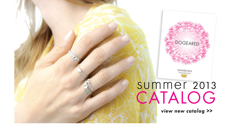 It's here! Dogeared's Summer 2013 Catalog